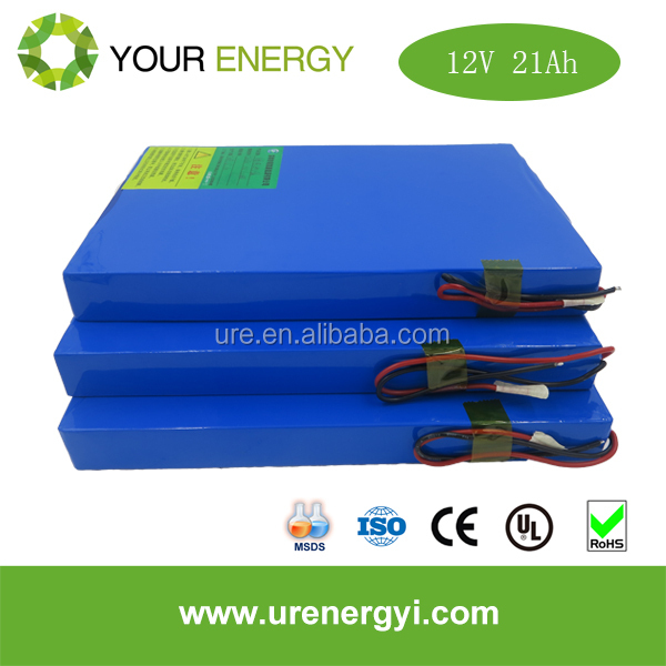 Wide Temp Range recharge lifepo4 battery 12v 21ah for 12v battery solar
