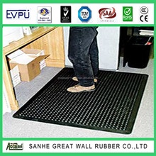 Designer Best-Selling Black 36x60 inch Anti-fatigue Rubber Sheet Rubber Hollow Mats For Park