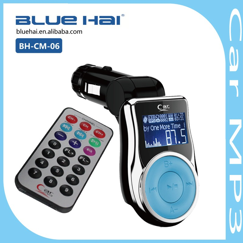 Car MP3 Arabic Song Download Car Radio MP3 FM AM Transmitter with Bluetooth Remote Control