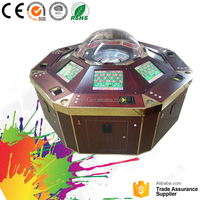 Bahamas automatic mahjong table plastic Gambling game machine Roulette table factory price for sale