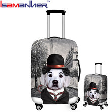 10pcs wholesale luggage cover bags full printing travel luggage cover spandex
