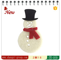 (XM4-02)snow man with Scarf snow festival adorning door