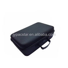 Black knitted fabric material handy carry lightweight large eva tool carrying case