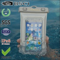 for iphone4 hot selling pvc waterproof bag case