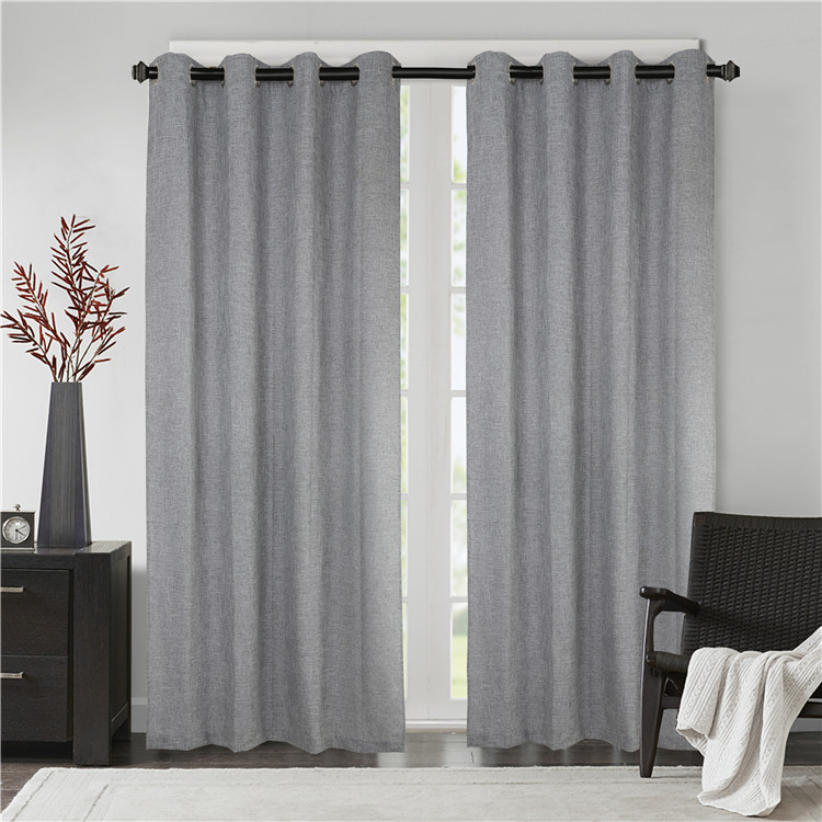 Made in china Multiple colors are optional Cotton and Linen Curtain