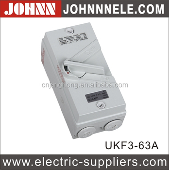 UKF Enclosure Liushi Factory Explosion-Proof Isolator Switch