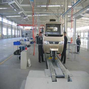 Cargo Tricycle production Line Automatic