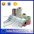 2013 Best anti-counterfeit cell phone sticker label Printing