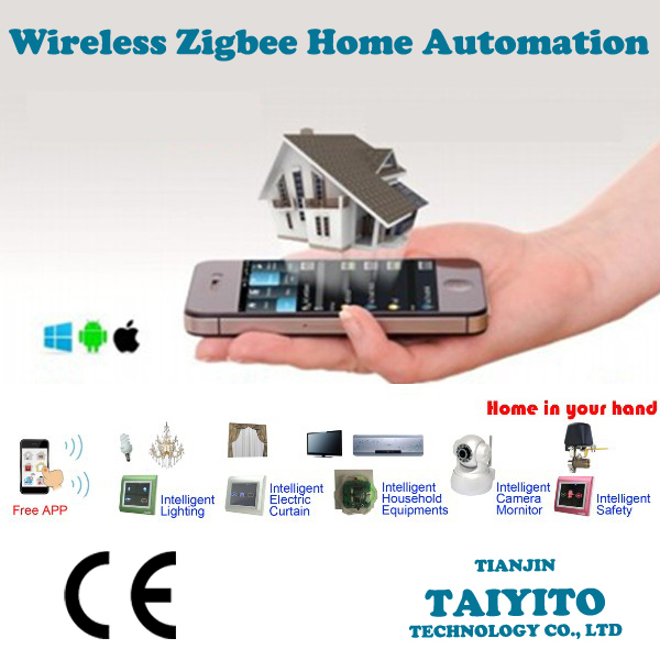 domotics control device for smart home , smartphone control home automation system with zigbee