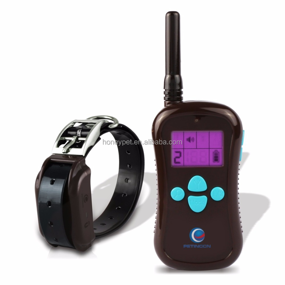 1000m remote dog training collar shock 1-8 levels shock and vibration M613 electric collar training dogs