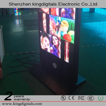 Full Color Tube Chip Color and Indoor Usage P2.5 led advertising display