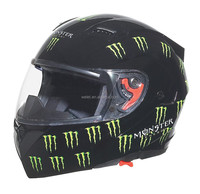 DOT double visors New model flip up helmet