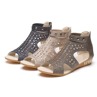 Sandals Women Casual Rome Summer Shoes Fashion Rivet Gladiator