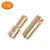 Custom Bright Brass Plate Bullet Plug Connector Pin