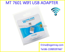 Wireless USB WIFI Network Adapter for Windows 7/XP/Vista/Mac OS X/LINUX,Supports 802.11 b/g/n Products