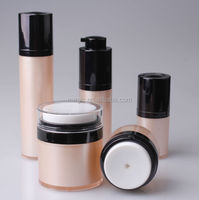 Hot new products for girl, round airless skin shine beauty cream jar