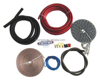 power cable transparent 4ga car amplifier wiring kit