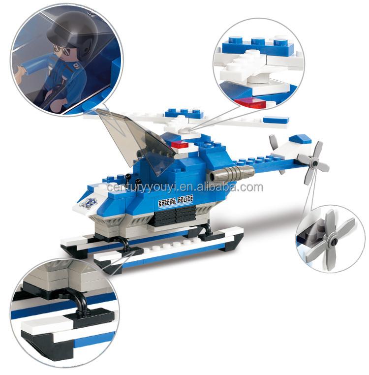 Best Selling Toys For Boys : Alibaba new product sluban plastic building blocks