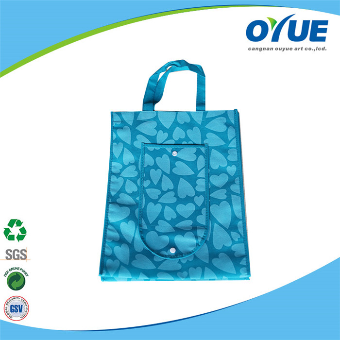 Wholesale cheapest new arrival OEM nonwoven folding shopping bags