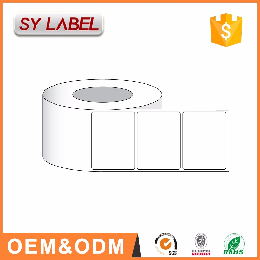 "factory custom 4x3""x625 labels/rolltransfer printer design labels online thermal paper"