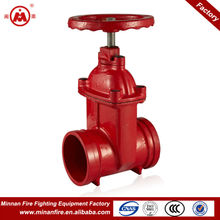 Z85X trench type non rising stem gate valve dn100