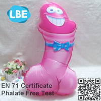 EN71 advertising china custome wholesale sex toy helium balloon