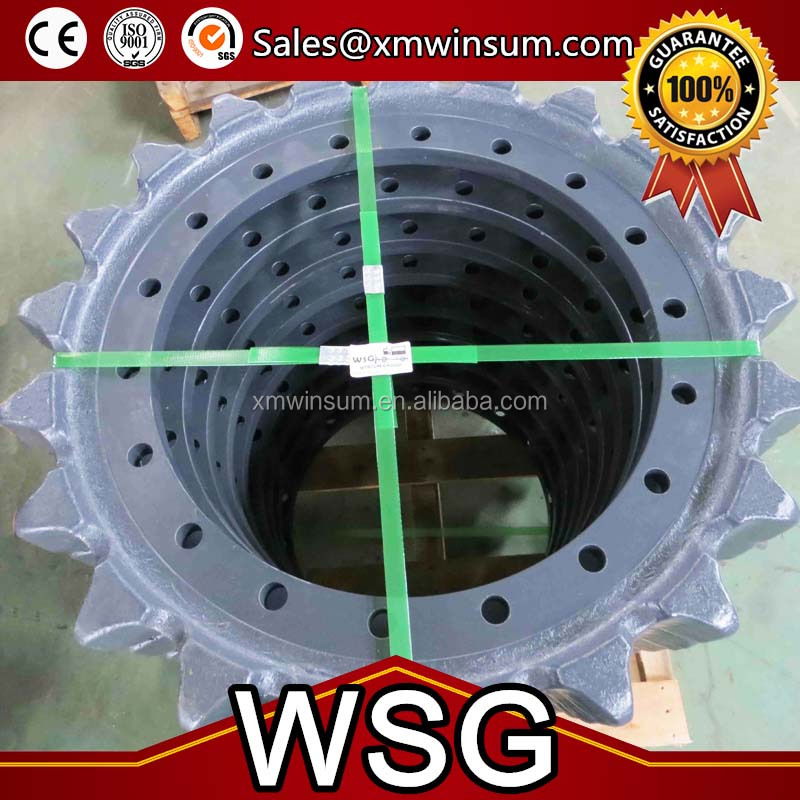 Warranty 2000h for hitachi UH081 excavator sprocket/segment