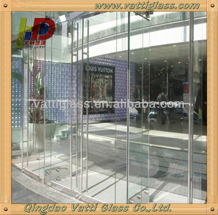 Office Glass Door And Commercial Glass Entry Door View Interior
