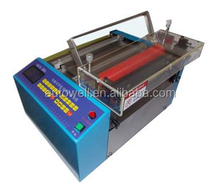 Foil cutting machine for pure aluminum foil with colored printing for food wrap