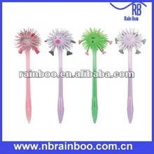 Hot selling new style promotional flashing bulb pen light up pen