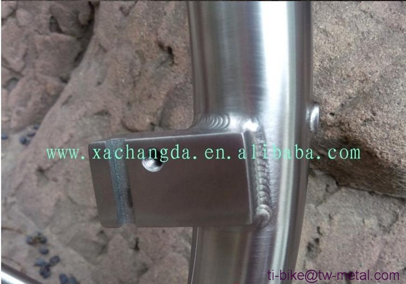 titanium tandem frame surper light titanium mtb tandem bicycles for two seat e-bike XACD tandem mountain bike frame