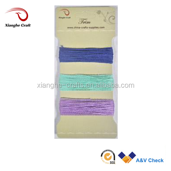 Cheap cotton yarn 100% cotton yarn for Needle crafts ,scrapbooking