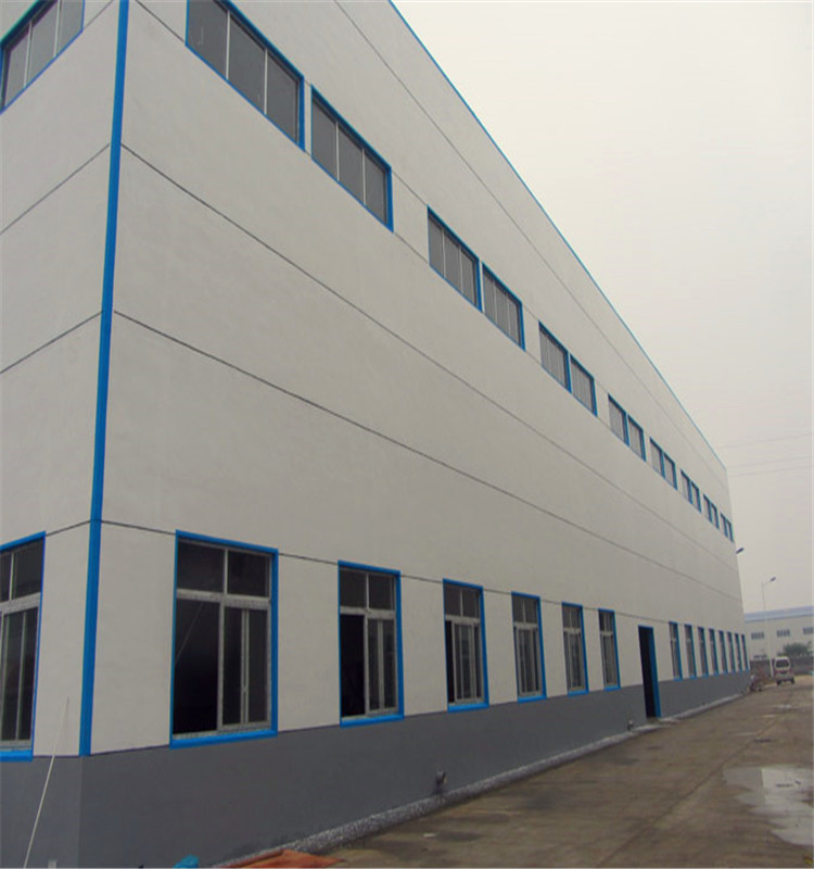 large span light steel structure warehouse building