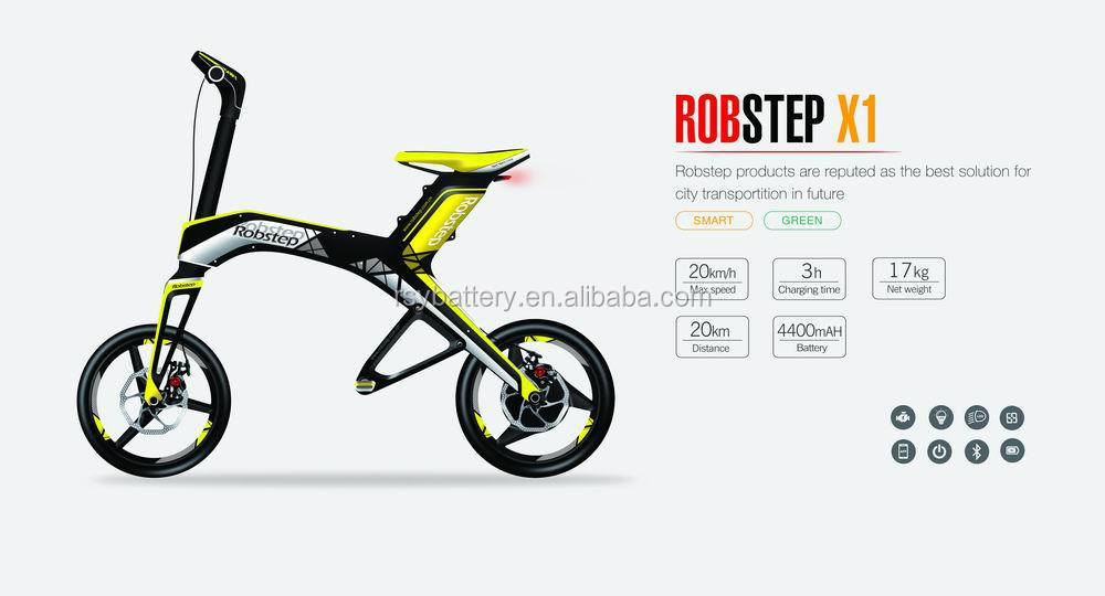 Robstep X1 folding electric scooter (e-bike)