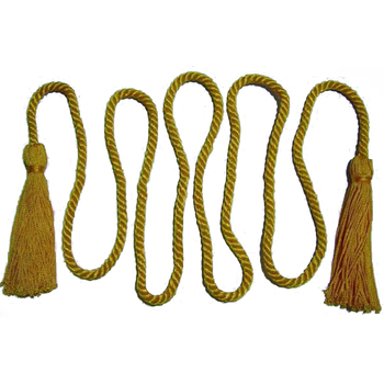 Wholesale 100% Polyester Double Decorative Cord/ Graduation Honor Cords