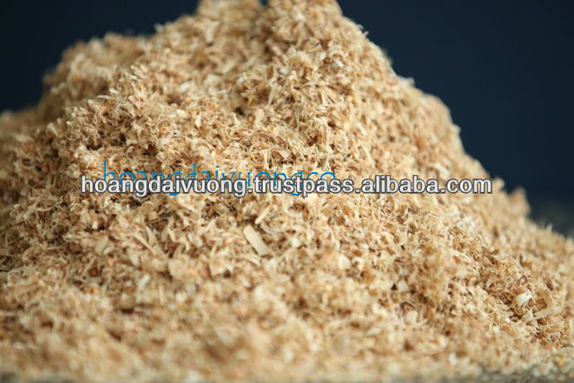 Rubber wood sawdust