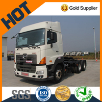 China best Hino 700P 6x4 diesel tractor head gross weight 25 ton