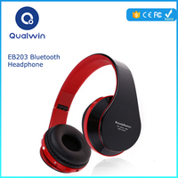 Noise Cancelling Headset With Mic, Support TF Card, FM RadioSorpu EB203 HiFi Deep Bass Wireless Stereo Bluetooth Headphone 4.0
