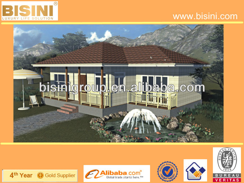 (BY11-0009B)Prefabricated 3D Design House, Well Designed Steel Home,Prefab Steel Villa