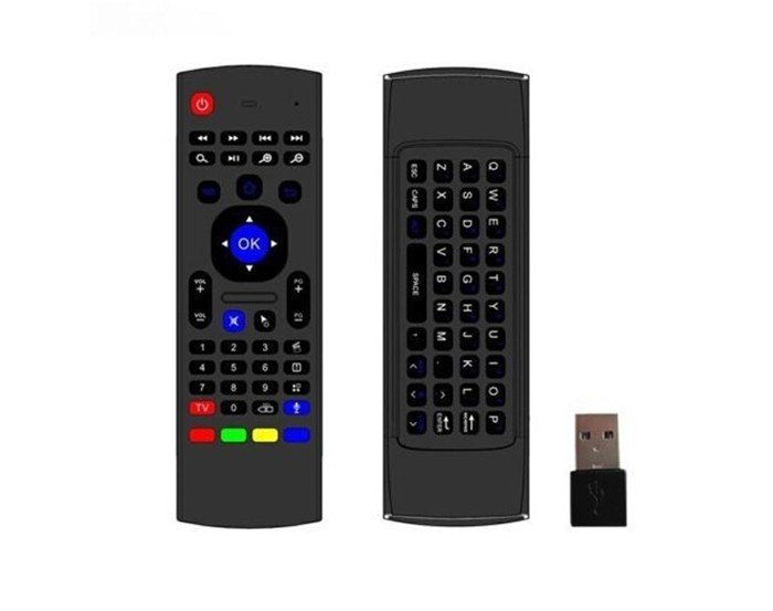 2.4G BT air mouse Fly Mouse+Keyboard+Remote Controller For Mini PC MX3 Remote Control Fly Air Mouse for Android Tv Box