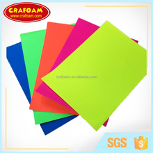 Best Sale Color Fluorescent paper waterproof color cardboard sheet for carft work