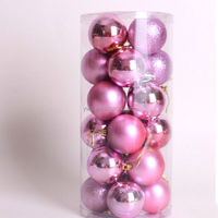Christmas Tree Decor 4cm/6cm /8cm Ball Bauble Hanging Xmas Party Ornament