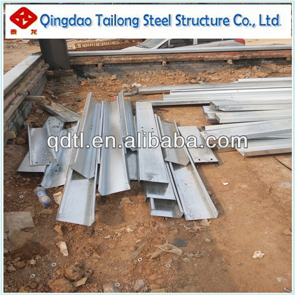 prefabricated steel structure workshop/warehouse/building construction