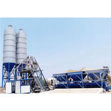 New bucket HZS25 mini small cement concrete batching mixture plant for sale