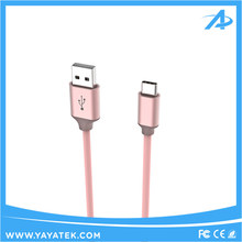 Wholesale 2.4A fast Charging cable super soft TPE type c usb cable