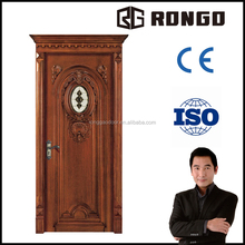 Rongo OAK wood solid door with good price