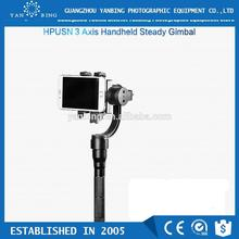 HPUSN flycam steadycam 3-axis handheld gimbal stabilizer for go pro phone