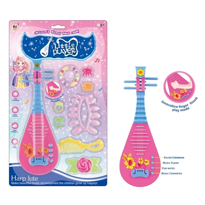 Beauty musical instrument lute toy for kids