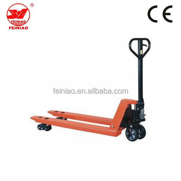 Warehouse widely used lifting equipment/hand pallet truck for sale