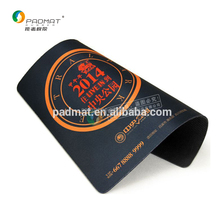 promotion mouse pad, photo frame mouse mat, High Quality Printed rubber sheet for mouse pad